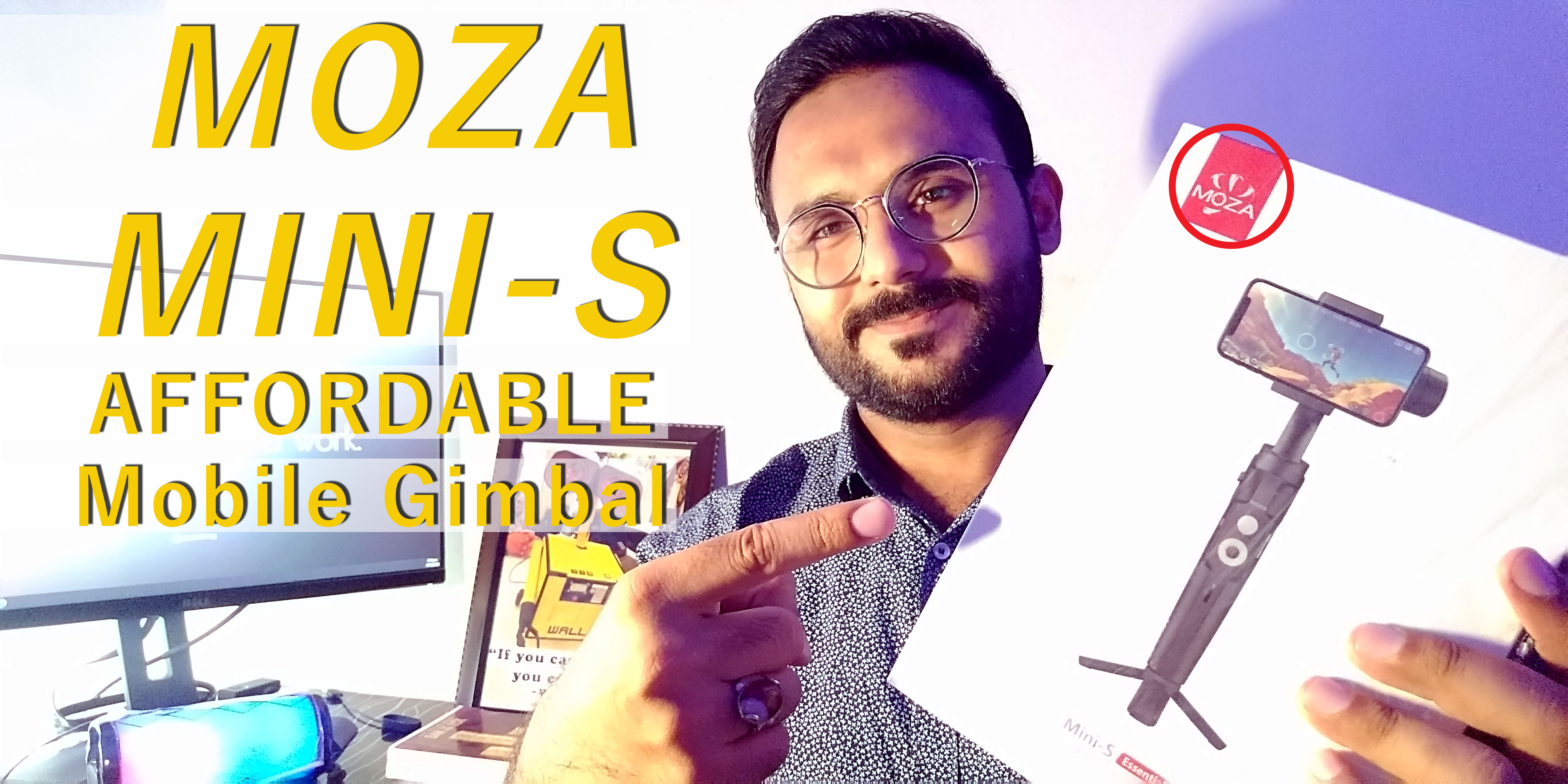 MOZA MINI S Essential REVIEW/ UNBOXING/ FIELD TEST